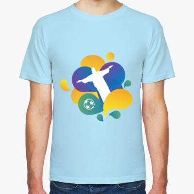 Футболка Бразилия 2014 World Cup 2014 Brazil