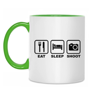 Кружка Eat Sleep Shoot