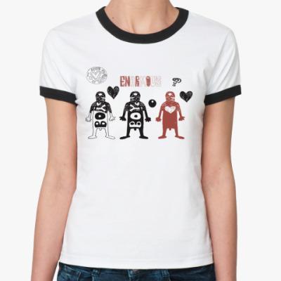 Женская футболка Ringer-T Boys And Girls