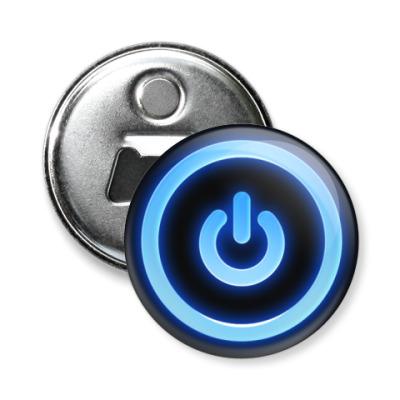 Магнит-открывашка  'Power Button'