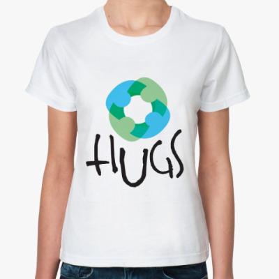 Классическая футболка Hugs