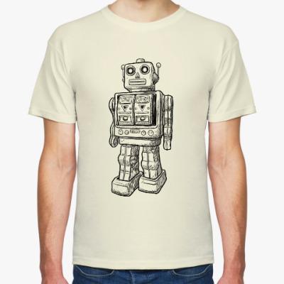 Футболка Sketchy robot