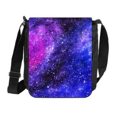 Сумка на плечо (мини-планшет) Space Galaxy Stars