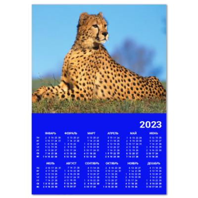 Календарь Леопард