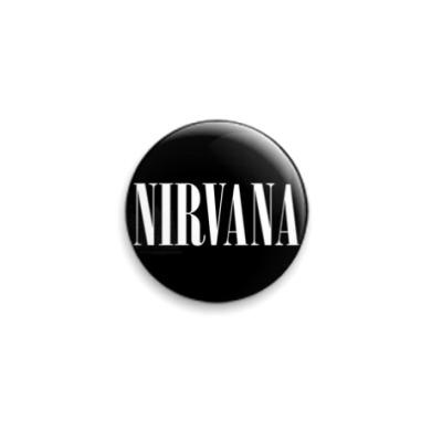 Значок 25мм  'Nirvana'