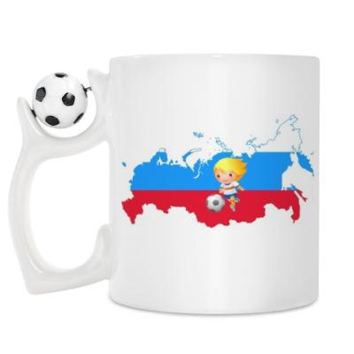 Кружка Футбольный матч России