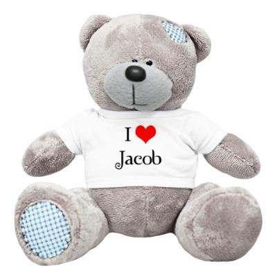 Плюшевый мишка Тедди I love Jacob