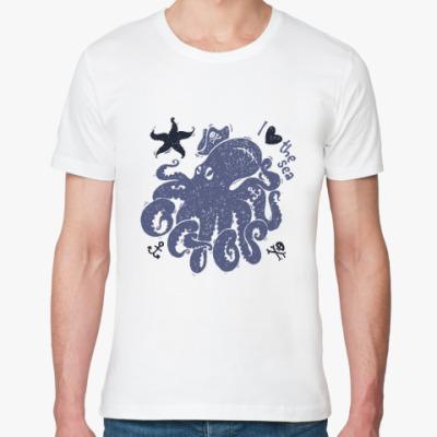 Футболка из органик-хлопка octopus