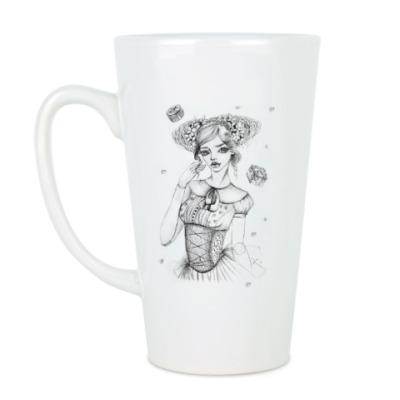 Чашка Латте Куколка