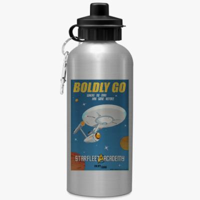 Спортивная бутылка/фляжка Star Trek Boldly Go