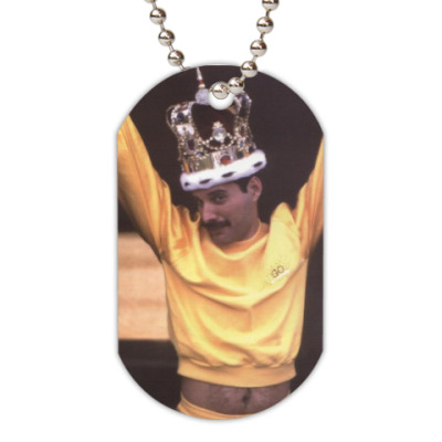 Жетон dog-tag Freddie Mercury