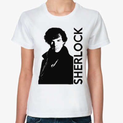 Классическая футболка Шерлок (Sherlock)