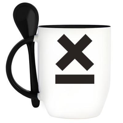 Кружка с ложкой X