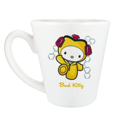 Чашка Латте Bad Kitty