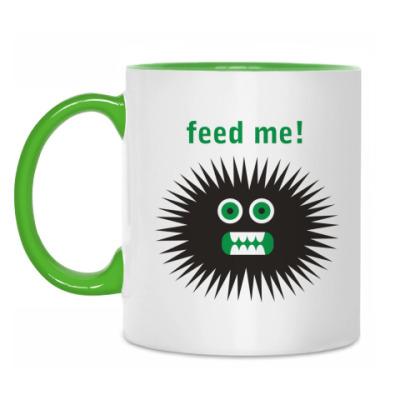 Кружка Feed me!
