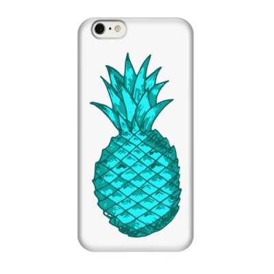 Чехол для iPhone 6/6s Зеленый ананас