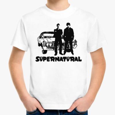 Детская футболка Supernatural Impala