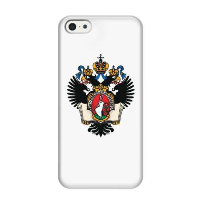 Чехол для iPhone 5/5s Герб СПБГУ