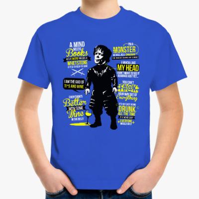 Детская футболка Тирион