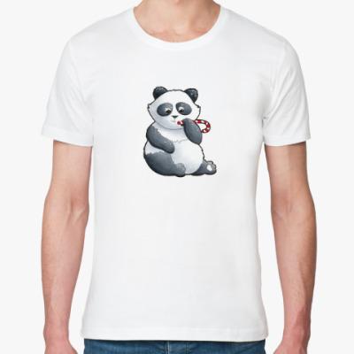 Футболка из органик-хлопка WWF. Панда с карамелькой