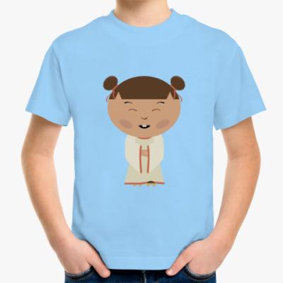 Детская футболка Японская девочка