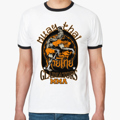 Футболка Ringer-T Muay Thai (ТАЙСКИЙ БОКС)