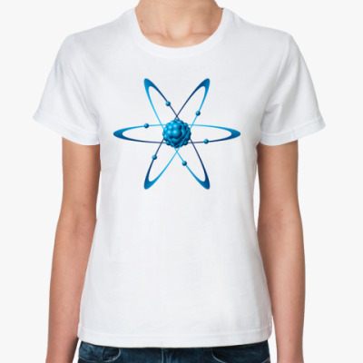 Классическая футболка Атом