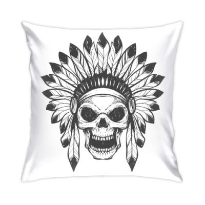 Подушка Череп индейца