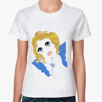Классическая футболка  Blue Fairy