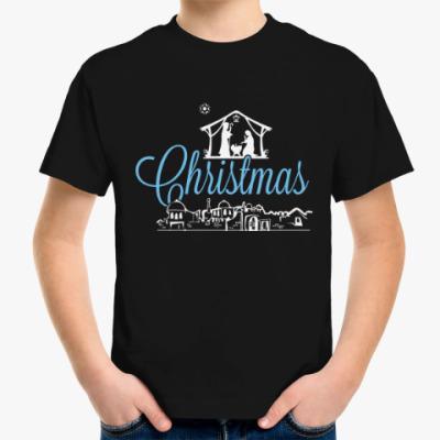 Детская футболка Рождество