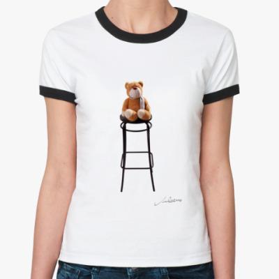 Женская футболка Ringer-T Teddy