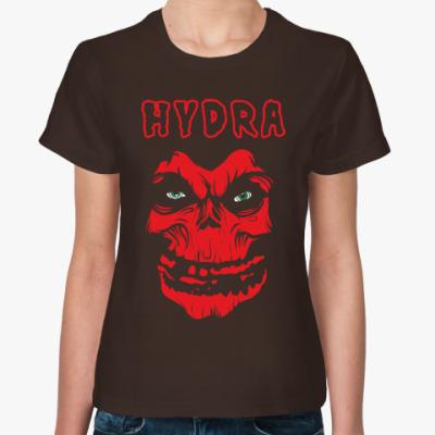 Женская футболка Гидра