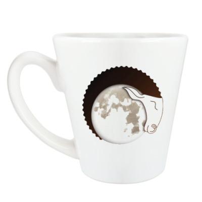 Чашка Латте Лунный Баран