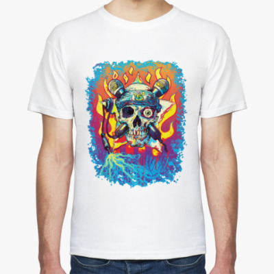 Футболка Music Skull