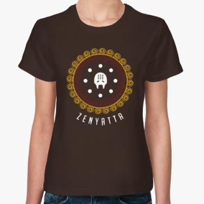 Женская футболка Zenyatta - Overwatch