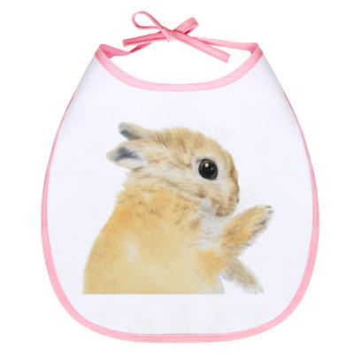 Слюнявчик Нежный кролик