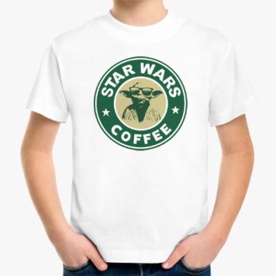 Детская футболка Star Wars VII coffee