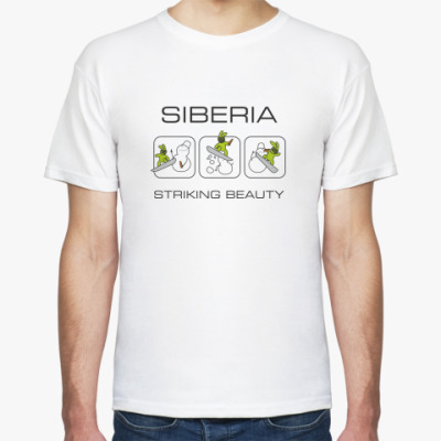 Футболка Siberia StrikingBeauty t-shirt