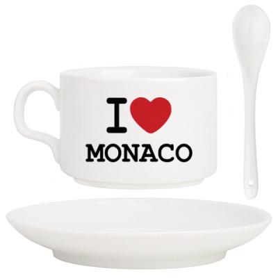 Кофейный набор I Love Monaco