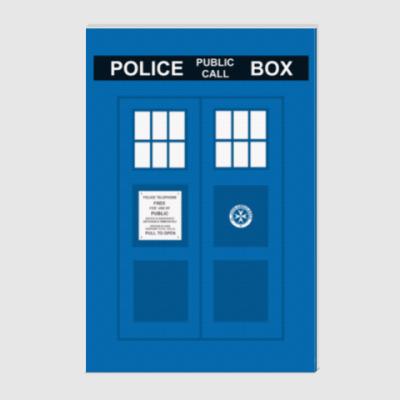 Холст TARDIS