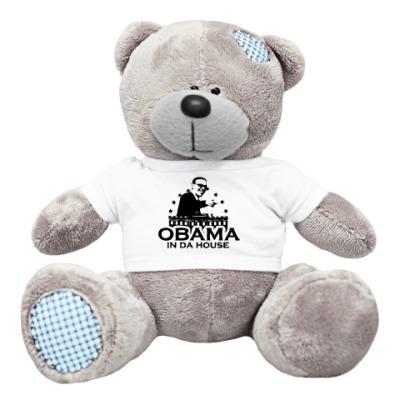 Плюшевый мишка Тедди OBAMA IN DA HOUSE