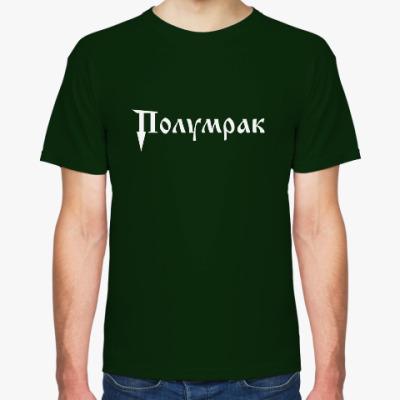 Футболка Мужская футболка Fruit of the Loom, темно-зеленая