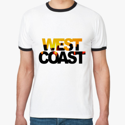 Футболка Ringer-T West Coast