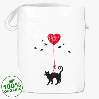 Сумка Кот и сердце