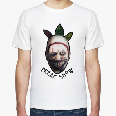 Футболка Freakshow horror clown