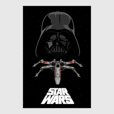 Постер Star Wars - Darth Vader