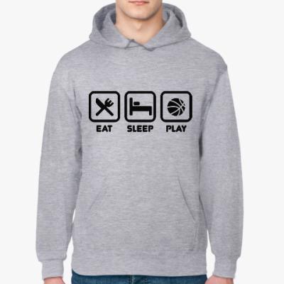 Толстовка худи Eat Sleep Play