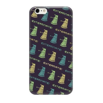 Чехол для iPhone 6/6s Daleks pattern