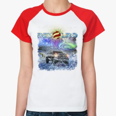 Женская футболка реглан DEVOLRO