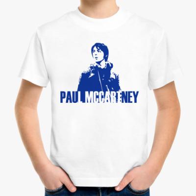 Детская футболка Paul McCartney